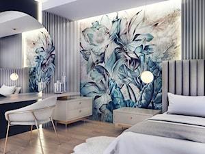 kwiecista sypialnia MaNaZa - zdjęcie od MaNaZa