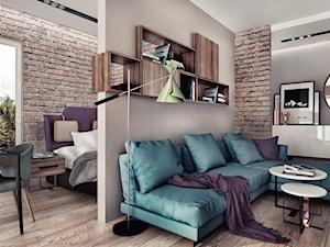 czy można podać co to jest za kolor na ścianach? w połączeniu z kanapa, cegłą i fioletem wygląda obłędnie ! :)