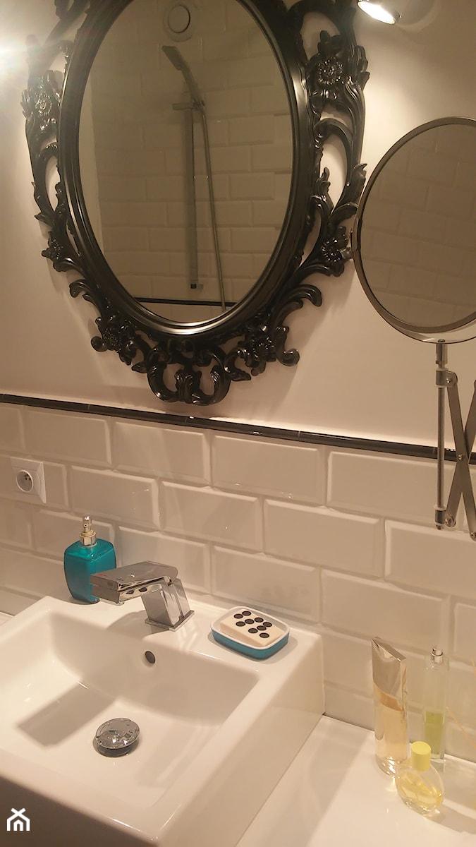 Remont Małej łazienki Mała Biała łazienka Na Poddaszu W