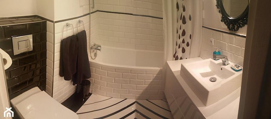 Remont Małej łazienki Mała Biała Czarna łazienka W Bloku