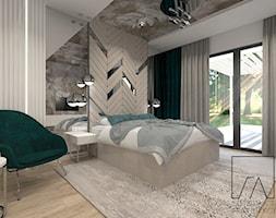 DOM // PNIEWY - Sypialnia, styl glamour - zdjęcie od SZTYBLEWICZ_architekci - Homebook
