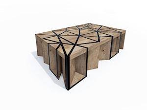 meble do wnętrza # stolik / rzeźba # geometric game