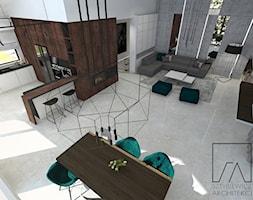 DOM // PNIEWY - Salon, styl nowoczesny - zdjęcie od SZTYBLEWICZ_architekci - Homebook