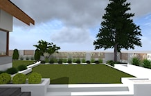 Ogród styl Nowoczesny - zdjęcie od ap. studio architektoniczne Aurelia Palczewska