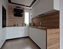 nowoczesna kuchnia w Olsztynie - zdjęcie od ap. studio architektoniczne Aurelia Palczewska