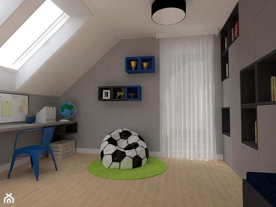pokój chłopca - zdjęcie od ap. studio architektoniczne Aurelia Palczewska-Dreszler