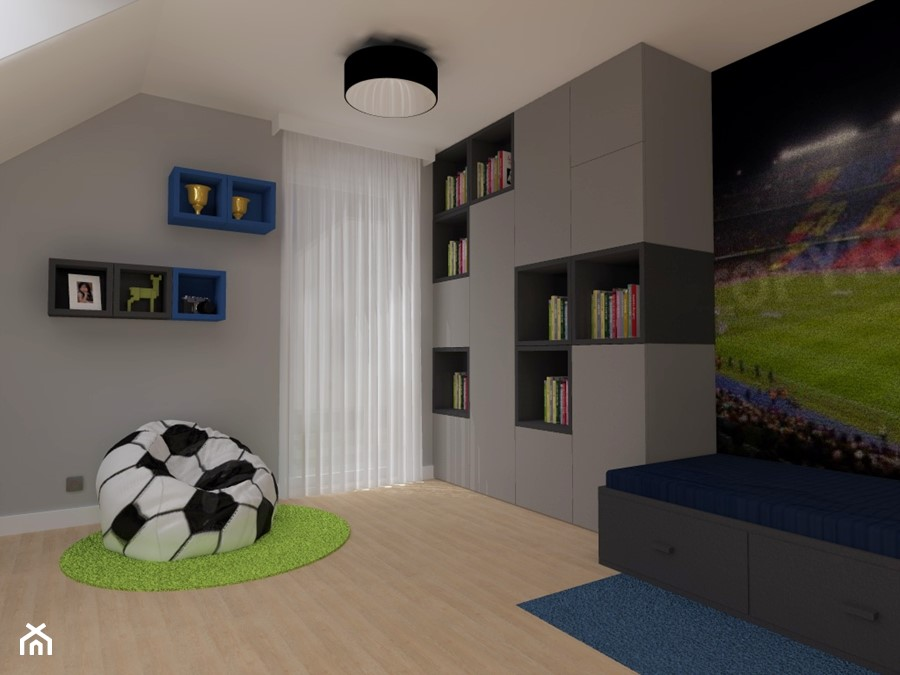 pok j ch opca zdj cie od ap studio architektoniczne aurelia palczewska dreszler homebook. Black Bedroom Furniture Sets. Home Design Ideas