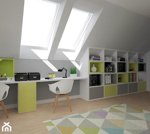 Zupełnie nowe biurko chowane w szafie - pomysły, inspiracje z homebook CP57
