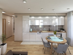Mieszkanie na beżowo - zdjęcie od marengo-architektura