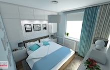 Sypialnia styl Prowansalski - zdjęcie od marengo-architektura