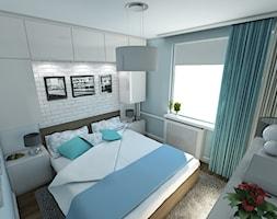 Nowoczesne mieszkanie w stylu prowansalskim - Sypialnia, styl prowansalski - zdjęcie od marengo-architektura