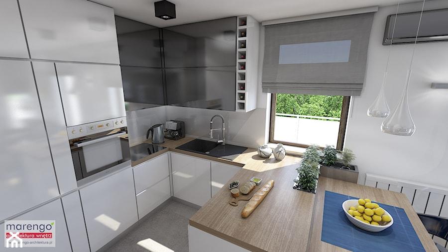 Stylowe mieszkanie w Krakowie - zdjęcie od marengo-architektura