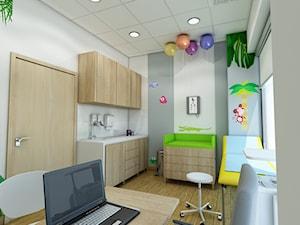 Gabinety lekarskie Centrum Mama w Krakowie - zdjęcie od marengo-architektura