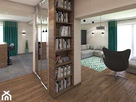 Aranżacje wnętrz - Hol / Przedpokój: Dom w Trzemeśni - marengo-architektura. Przeglądaj, dodawaj i zapisuj najlepsze zdjęcia, pomysły i inspiracje designerskie. W bazie mamy już prawie milion fotografii!