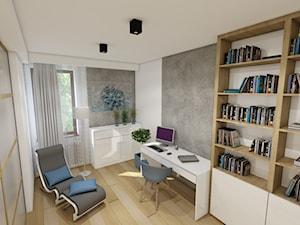 Projekt wnętrza mieszkania pokazowego w Krakowie - zdjęcie od marengo-architektura