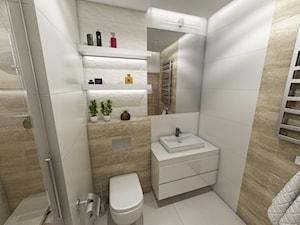 Kuchnia i łazienki w stylu skandynawskim - zdjęcie od marengo-architektura