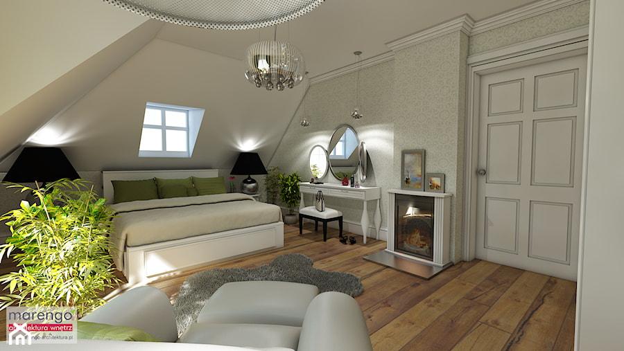 Projekt wnętrza styl angielski - zdjęcie od marengo-architektura
