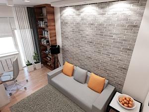 Wnętrze mieszkania Kraków Ruczaj - zdjęcie od marengo-architektura