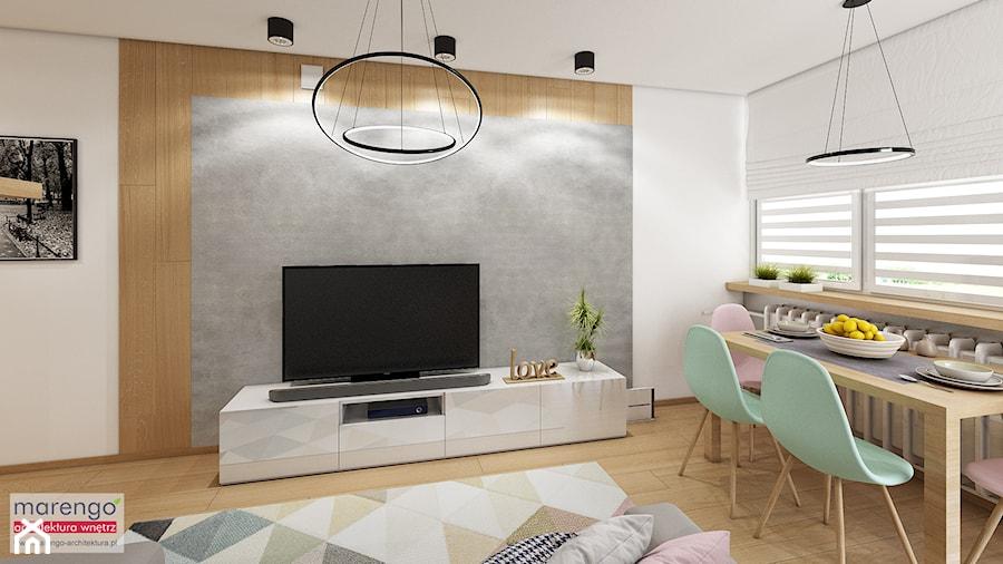 Mieszkanie w pastelach - zdjęcie od marengo-architektura