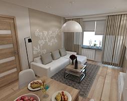 Projekt wnętrza mieszkanie w Brzesku - zdjęcie od marengo-architektura