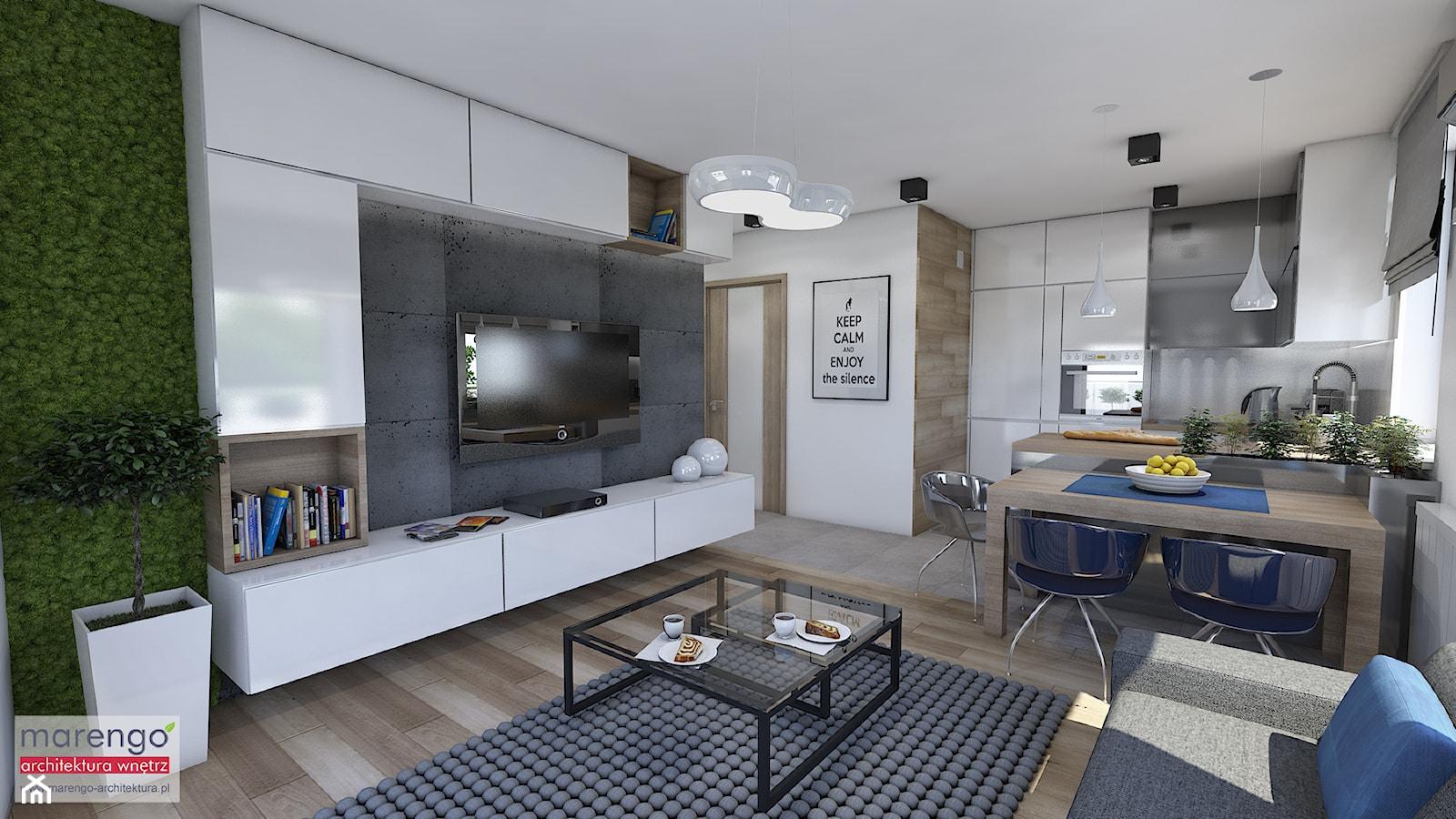 Stylowe mieszkanie w Krakowie - zdjęcie od marengo-architektura - Homebook