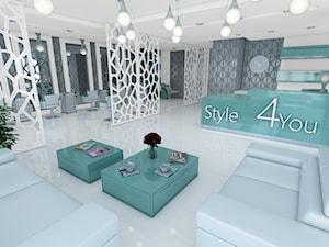 Projekt salonu fryzjerskiego w Krakowie
