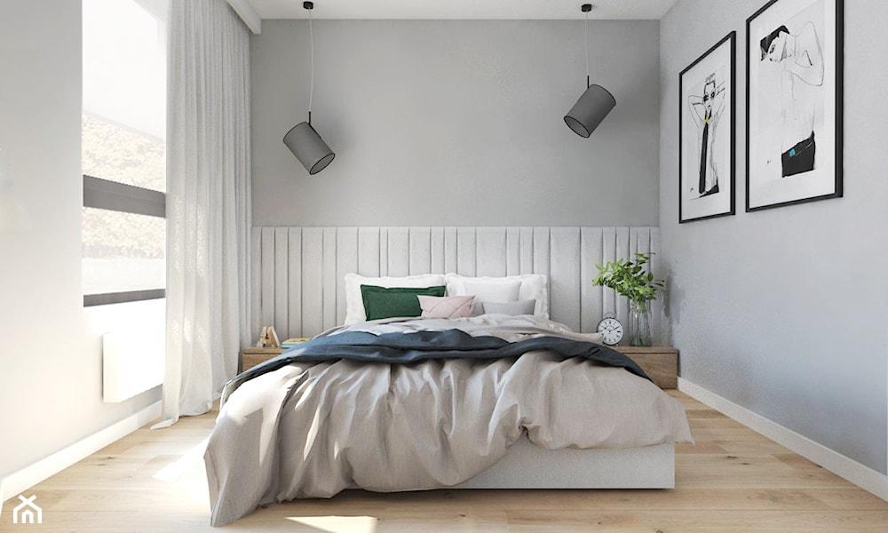 pikowane panele 3D w sypialni