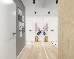 Projekt 46 - Hol / przedpokój, styl nowoczesny - zdjęcie od PASS architekci - Homebook