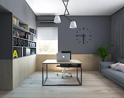 Projekt 49 - Biuro, styl nowoczesny - zdjęcie od PASS architekci - Homebook