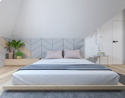Projekt 49 - Sypialnia, styl nowoczesny - zdjęcie od PASS architekci - Homebook