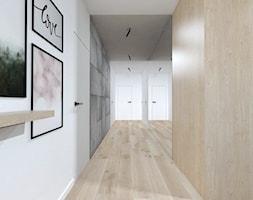 Projekt 49 - Hol / przedpokój, styl minimalistyczny - zdjęcie od PASS architekci - Homebook