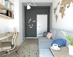 Projekt 46 - Biuro, styl nowoczesny - zdjęcie od PASS architekci - Homebook