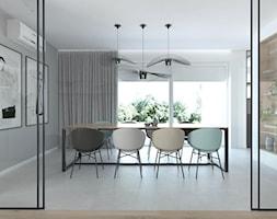 Projekt 49 - Jadalnia, styl minimalistyczny - zdjęcie od PASS architekci - Homebook