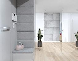 Projekt 6 - Hol / przedpokój, styl nowoczesny - zdjęcie od PASS architekci - Homebook