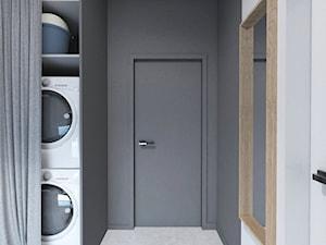 Projekt 32 - Mała otwarta garderoba, styl skandynawski - zdjęcie od PASS architekci
