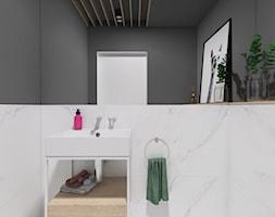 Projekt 49 - Łazienka, styl minimalistyczny - zdjęcie od PASS architekci - Homebook