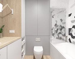 Projekt 46 - Łazienka, styl nowoczesny - zdjęcie od PASS architekci - Homebook
