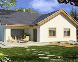 Projekty Domów Parterowych Z Poddaszem Projekt Domu Toobapl