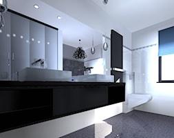 łazienka Biało Czarna Aranżacje Pomysły Inspiracje Z Homebook