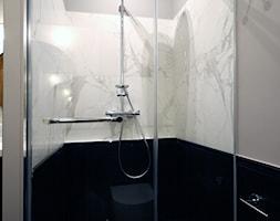 Apartament w secesyjnej willi w Gdańsku Oliwie - Łazienka, styl nowojorski - zdjęcie od WLEKLIŃSKA WNĘTRZA - Homebook