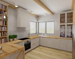 Dom jednorodzinny parterowy - Kuchnia, styl skandynawski - zdjęcie od WLEKLIŃSKA WNĘTRZA - Homebook