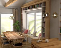 Dom jednorodzinny parterowy - Jadalnia, styl skandynawski - zdjęcie od WLEKLIŃSKA WNĘTRZA - Homebook