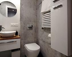 Kawalerka w stylu industrial - Łazienka, styl industrialny - zdjęcie od WLEKLIŃSKA WNĘTRZA - Homebook