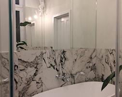 Apartament w secesyjnej willi w Gdańsku Oliwie - Łazienka, styl włoski - zdjęcie od WLEKLIŃSKA WNĘTRZA - Homebook