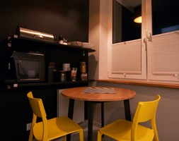 Kawalerka w stylu industrial - Kuchnia, styl industrialny - zdjęcie od WLEKLIŃSKA WNĘTRZA - Homebook