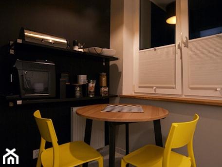 Aranżacje wnętrz - Kuchnia: Kawalerka w stylu industrial - Kuchnia, styl industrialny - WLEKLIŃSKA WNĘTRZA. Przeglądaj, dodawaj i zapisuj najlepsze zdjęcia, pomysły i inspiracje designerskie. W bazie mamy już prawie milion fotografii!