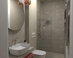 Dom jednorodzinny parterowy - Łazienka, styl rustykalny - zdjęcie od WLEKLIŃSKA WNĘTRZA - Homebook