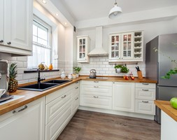 Stylizacja i fotografia wnętrz - Kuchnia, styl skandynawski - zdjęcie od AnEd Design - stylizacja wnętrz/home staging/fotografia wnętrz - Homebook