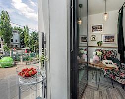 Projekt małego mieszkania 27m2 - Sypialnia, styl prowansalski - zdjęcie od AnEd Design - stylizacja wnętrz/home staging/fotografia wnętrz - Homebook