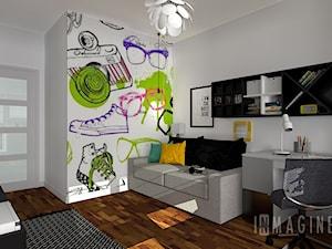 pokój dla nastolatki - zdjęcie od InMAGINE - Autorska Pracownia Projektowa, Warszawa